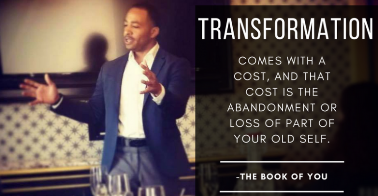 Transformation_Book of You_Terrell Fletcher